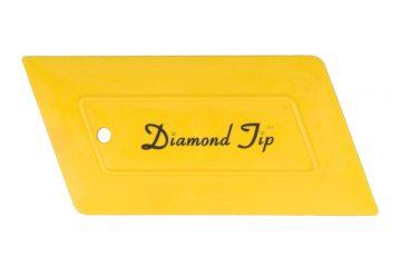 Diamond-tip-hard-card-yellow