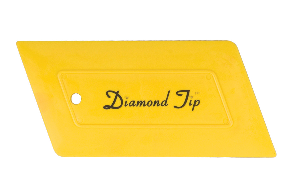 Diamond-tip-hard-card-yellow